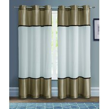 Mason Grommet Curtain Single Panel