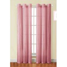 Sierra-Crushed Grommet Curtain Single Panel