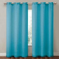 <strong>Victoria Classics</strong> Sparkle Penelope Grommet Curtain Single Panel