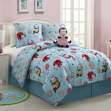 <strong>Victoria Classics</strong> Lola the LadyBug 3 Piece Comforter Set