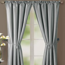 Lincoln Rod Pocket Curtain Single Panel (Set of 2)