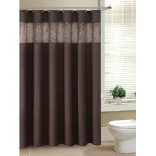 Fame Faux Silk Shower Curtain