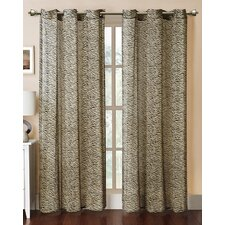 Georgette Bengal Printed Curtain Single Panel