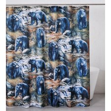 Bears Polyester Shower Curtain