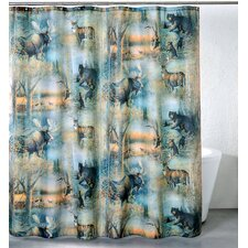 Big Country Polyester Shower Curtain