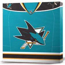 NHL Jersey Premium Textual Art on Canvas