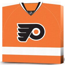 NHL Jersey Premium Textual Art on Canvas