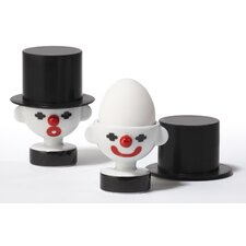 Pair Clown Egg Holders