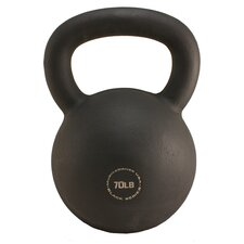 <strong>Muscle Driver USA</strong> 70 lb Black Series Kettlebell