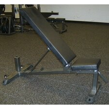 <strong>Muscle Driver USA</strong> Pendlay Elite Adjustable Utility Bench