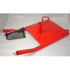 Power Sled in Red
