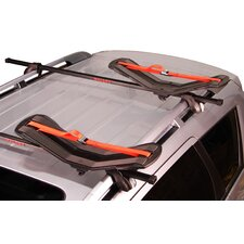 SeaWing Saddle Style Universal Car Rack Kayak Carrier with Bow and Stern Lines
