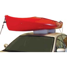 Standard Foam Block Universal Car Top Kayak Carrier Kit