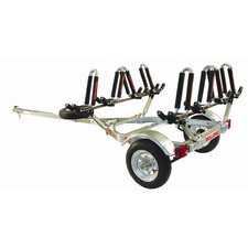 <strong>Malone Auto Racks</strong> MicroSport Trailer Package: 1-Trailer, 1-Spare Tire Kit, 4-JPro2