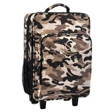 Kids Camo Luggage with Integrated Cooler