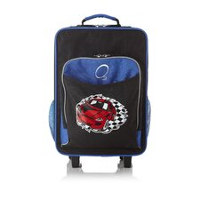 Kids Luggage with Integrated Cooler in Racecar