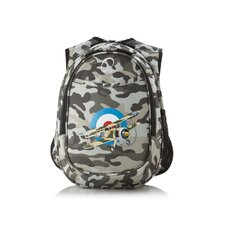 Kids All in One Pre-School Camo Airplane Cooler Backpack