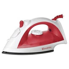 Steam Iron in Red