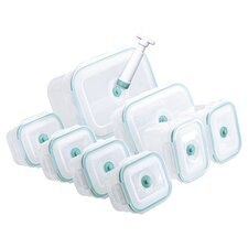Vac 'n Save 17 Piece Vacuum Rectangular Container Set