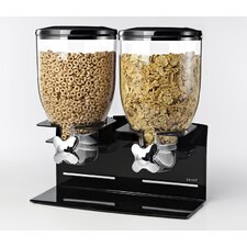 Indispensable Dispenser - Professional Edition Double Dry Food Dispenser for Countertop