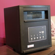 1500 Watt Portable Infrared Cabinet Electric Space Heater