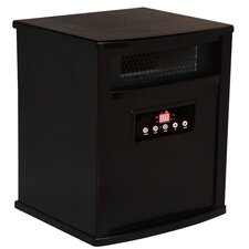 <strong>American Comfort</strong> Titanium 1,500 Watt Infrared Cabinet Portable Space Heater