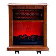 1500W Portable Infrared Electric Fireplace