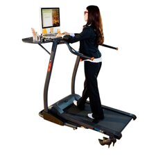 <strong>Exerpeutic Fitness</strong> 2000 Workfit High Capacity Desk Station Treadmill