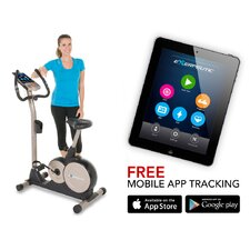 <strong>Exerpeutic Fitness</strong> 3000 Mobile App Tracking Magnetic Upright Bike