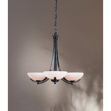 <strong>Hubbardton Forge</strong> Aegis 3 Light Chandelier