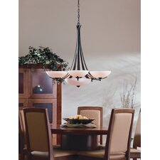 <strong>Hubbardton Forge</strong> Aegis 6 Light Chandelier
