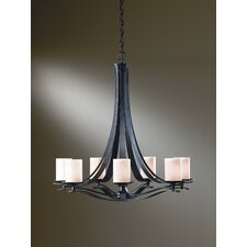<strong>Hubbardton Forge</strong> Berceau 7 Light Chandelier