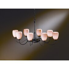 <strong>Hubbardton Forge</strong> 8 Light Chandelier
