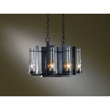 <strong>Hubbardton Forge</strong> New Town 6 Light Chandelier