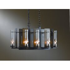 <strong>Hubbardton Forge</strong> New Town 8 Light Chandelier