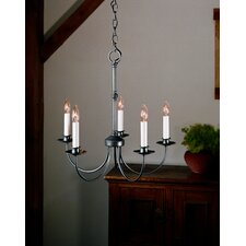 <strong>Hubbardton Forge</strong> 5 Light Chandelier