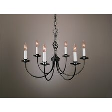 <strong>Hubbardton Forge</strong> 6 Light Chandelier