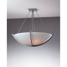 <strong>Hubbardton Forge</strong> Compass Medium 3 Light Semi Flush Mount