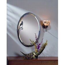 Leaf Beveled Mirror
