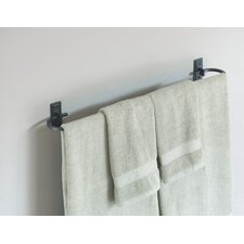 "Wall Mounted 29"" Curved Towel Holder"
