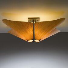 <strong>Hubbardton Forge</strong> Kirigami 4 Light Semi Flush Mount