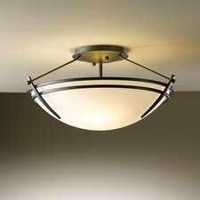 <strong>Hubbardton Forge</strong> Presidio Small 2 Light Semi Flush Mount