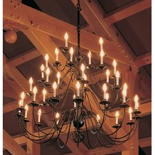 36 Light Chandelier