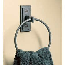 Wall Mounted Ring Towel Holder