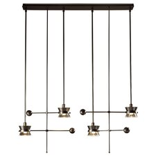 <strong>Hubbardton Forge</strong> Apparatus 4 Light Pendant