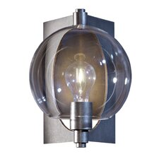 <strong>Hubbardton Forge</strong> Pluto 1 Light Outdoor Wall Lighting