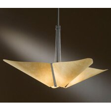 <strong>Hubbardton Forge</strong> Kirigami 4 Light Inverted Pendant