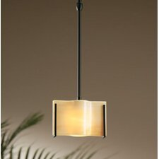 <strong>Hubbardton Forge</strong> Exos Wave Small 1 Light Drum Pendant