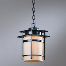 <strong>Hubbardton Forge</strong> Banded 1 Light Outdoor Hanging Lantern