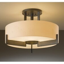 Axis Medium 3 Light Semi Flush Mount